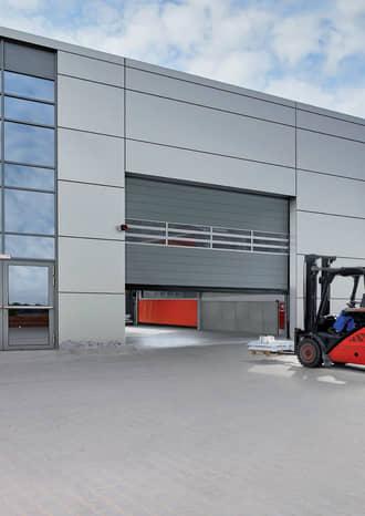 Hormannma Portes De Garage Porte Dentrée Et Portes Dintérieur - Porte de garage sectionnelle avec porte entree pvc occasion